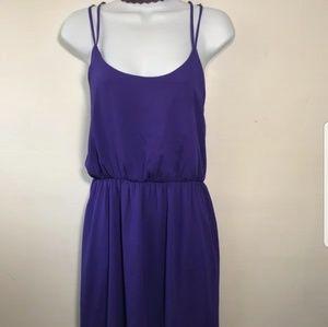 Forever 21 Dresses - Forever21 silky purple dress
